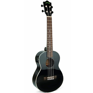 Legacy Collection Mahogany Gloss Black Concert Ukulele
