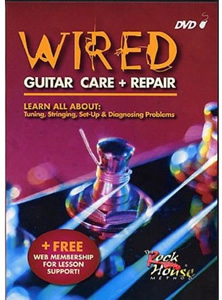 Rock House Method Wired Guitar Care and Repair DVD []