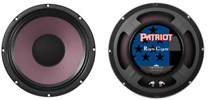 Patriot Series Ragin Cajun - 10 Inch 8 Ohms