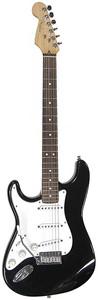 Fender Standard Stratocaster Left-Handed - Black/Rosewood Fretboard