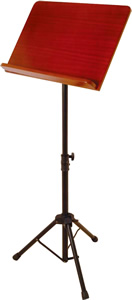 OnStage SM7311W Conductor Stand with Wood Bookplate [SM7311W]