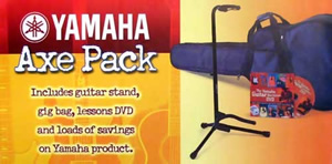 Yamaha Axe Pack CG Classical Guitar Accessory Package