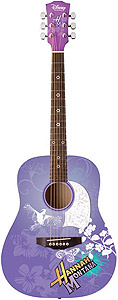 Washburn Acoustic Hannah Montana Guitar - Purple [HMDA34]