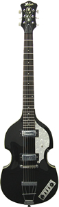 Hofner Icon Series Model HI 459 - Black Finish
