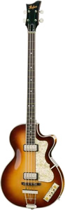 Hofner 500/2 Club Bass - Sunburst Finish []