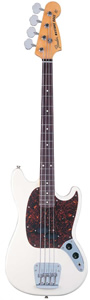 Mustang® Bass - Vintage White