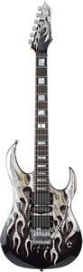 Dean MAB-1 Signed Michael Angelo Batio Armored Flame