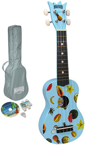 Mahalo UK-30LB Ukulele Kit - Blue [UK-30LB]