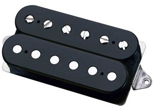 Dimarzio N2 Neck Position (*Bulk Pac) - Black/Black Finish [DHNN2BKL]