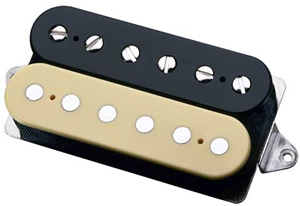 Dimarzio B2 Bridge Position (*Bulk Pac) - Black/Creme Finish [DHWB2BCL]