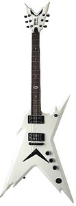 Dean Razorback DB - Metallic White Finish w/ Case [RZR DB MWH]