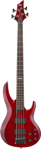 ESP LTD B-154DX - See-thru Red Finish [B154DXSTR]