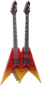 Dean USA Dave Mustaine Double Neck - Blood Lust with ATA Case []