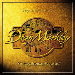 Dean Markley 2002A VintageBronze Light Acoustic Guitar Strings [2002]