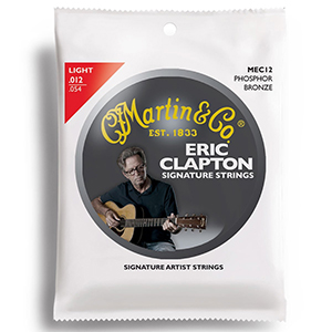Martin Claptons Choice MEC12 Light Gauge