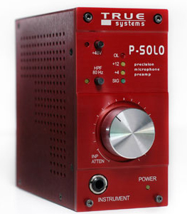True Systems P Solo Microphone Preamp [Psolo]