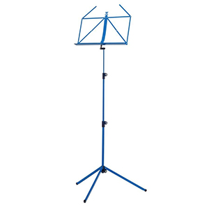Sheet Music Stand Blue 15586