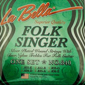 LaBella 840 Folk Singer