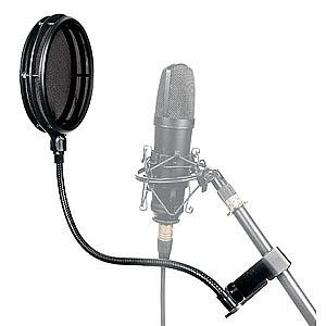 Middle Atlantic Pro Split Screen Pop Filter [Ma-SS-B/01]