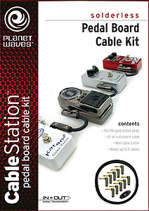 Planet Waves Pedal Board Cable Kit [PW-GPKIT-10]