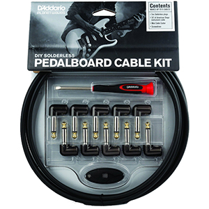 Daddario DIY Solderless Pedalboard Cable Kit 10 ft.