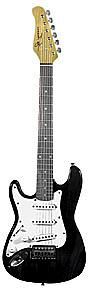Jay Turser JT-30 Lefty - Tansparent Black