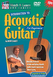 Watch And Learn Acoustic Guitar for Beginners DVD