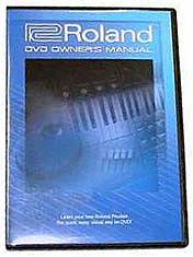 Roland Fantom XDVM Users Manual (DVD)