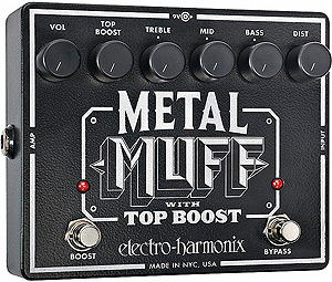Electro Harmonix Metal Muff with Top Boost [METAL MUFF]