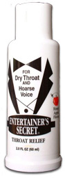 Entertainers Secret Throat Relief