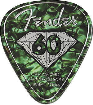 Fender 60th Anniversary Heavy Green Pick Tin [098-0351-609]