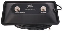 Peavey 2-Button Stereo Footswitch [03054360]