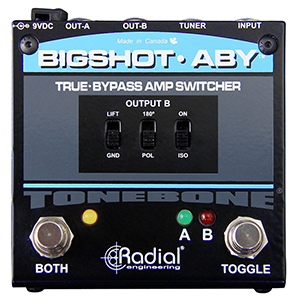 Radial BigShot ABY Passive Switcher