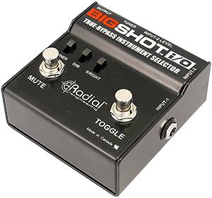 Radial BigShot i/o Input Selector