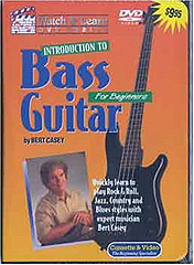 Watch And Learn Introduction to Bass Guitar DVD