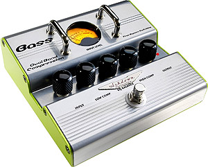 Ashdown Dual  Band Bass Compressor Amplifier Pedal