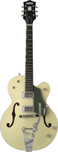 G6118T Anniversary™ with Bigsby® - Smoke Green 2-Tone