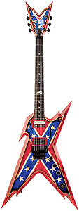 Dean USA Razorback Rebel with Case