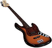 Fender GMP Replica Mini Jazz Bass Sunburst - Replica Model [099-99347-002]