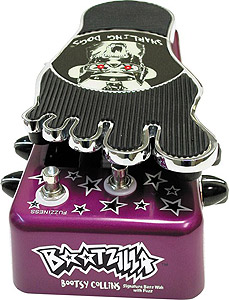 Bootzilla Bootsy Collins Signature Bass Wah Pedal