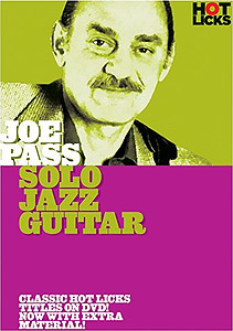 Hot Licks Joe Pass - Solo Jazz Guitar (DVD)
