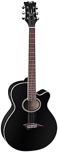 Dean Performer CE Archtop Acoustic/Electric - Classic Black [PATECCBK]