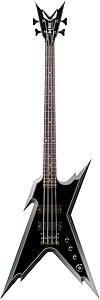 Dimebag Razorback Bass with Case - Two Tone Silver Blast Bass