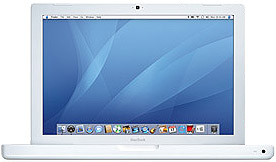 Apple MacBook 13 Inch 2.0GHz Intel Core 2 Duo - White [MA700LL/A ]