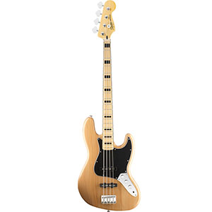 Vintage Modified 70s Jazz Bass - Natural - Maple