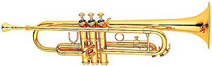 Hunter Bb Trumpet - Gold lacquer finish [6418L-1]