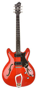 Hagstrom Viking Electric Guitar - Wild Cherry