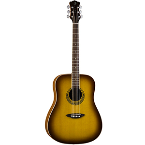 Luna Guitars Muse M Dreadnought - Satin Burst