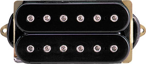 Dimarzio DP100BK Super Distortion (*Bulk Pac) - Black/Black Finish [DP100]