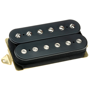 Dimarzio Eric Johnson Custom Bridge - Black